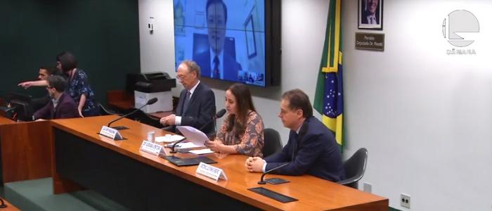 Audiência Pública sobre Telemedicina da Câmara dos Deputados, no dia 28/11/2019